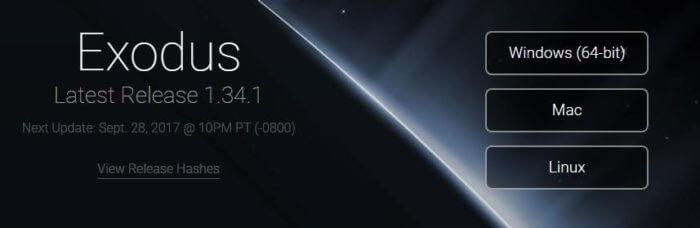Официальный сайт кошелька Exodus