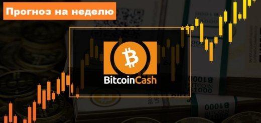 Bitcoin Cash BCH прогноз курса на неделю